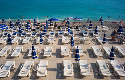 Beach of Nice Stock Photo