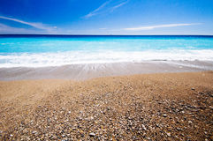 Beach, Nice, Cote D'Azur, France Stock Images
