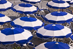 Beach of Nice on the French riviera Stock Photography