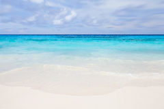 beach and nice sea water in summer season Royalty Free Stock Photography