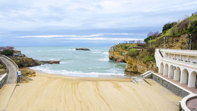 Biarritz in France Royalty Free Stock Photo