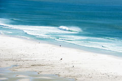 Beach of Noordhoek, South Africa stock photography