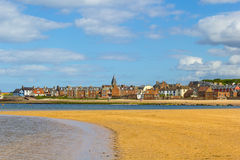 The beach in North Berwick, Scotland Stock Photography