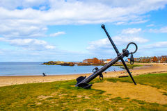 The beach in North Berwick, Scotland Stock Photos