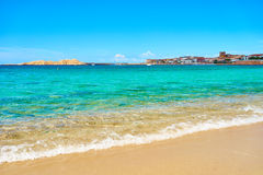 Beach in north of Sardinia - Isola Rossa Stock Photography