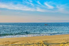Beach on north side of the Provincelands Cape Cod, Atlantic ocean view MA US. Beach on north side of the Provincelands Cape Cod, Atlantic ocean view MA US stock image