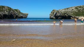 Beach. North spain Royalty Free Stock Photo