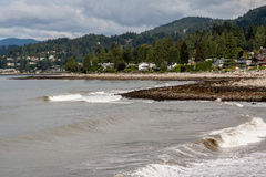 Beach North Vancouver Canada Royalty Free Stock Image