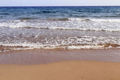 Beach of Northern Cyprus Royalty Free Stock Image