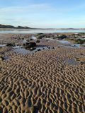 Beach in Northumberland, North East England Stock Photo