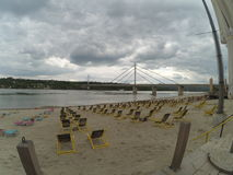 Beach in Novi Sad Royalty Free Stock Images