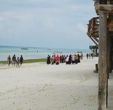 Nungvi Beach Zanzibar Tanzania Stock Photography