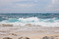 Beach at Nusa Lembongan, Indonesia Stock Image