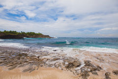 Beach at Nusa Lembongan, Indonesia Stock Images