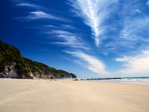 Beach in NZ Royalty Free Stock Images