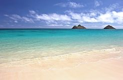 Beach of Oahu, Hawaii Stock Photography