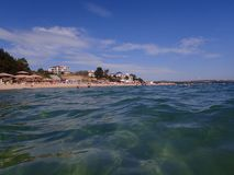 Beach at Obzor, Bulgaria Stock Photos