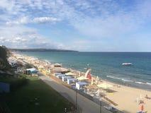 Beach at Obzor, Bulgaria Stock Image