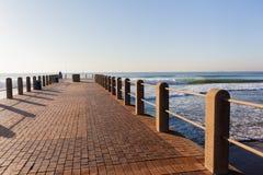 Beach Ocean Pier Landscape Stock Photo