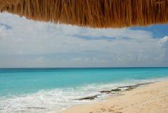 Beach and ocean scene Stock Photos