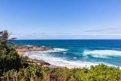 Beach Ocean Scenic Coastline royalty free stock photos