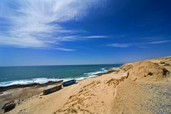 Beach, ocean, sea, sand Royalty Free Stock Photography