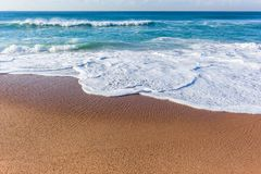 Free Beach Ocean Waters Edge Wave Wash Royalty Free Stock Photo - 120717815