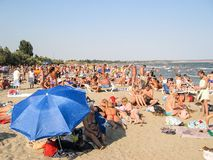 Beach of Odessa, Ukraine Stock Image
