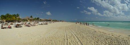 Free Beach Of Playa Del Carmen Royalty Free Stock Image - 37510796