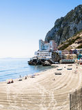 Beach Of The Caleta Royalty Free Stock Photography