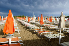 Free Beach Of Torre Canne On Puglia, Italy Royalty Free Stock Photo - 74009065