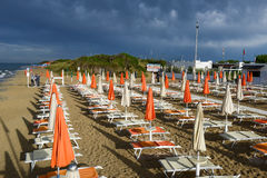 Free Beach Of Torre Canne On Puglia, Italy Royalty Free Stock Images - 74009799