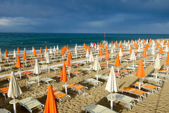 Free Beach Of Torre Canne On Puglia, Italy Royalty Free Stock Photos - 74010118