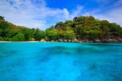 Free Beach Of Tropical Crystal Clear Sea, Similan Islands, Andaman Stock Photography - 40838562