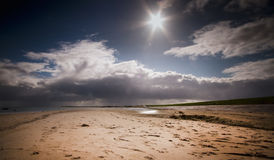 Beach off Texel Royalty Free Stock Photo