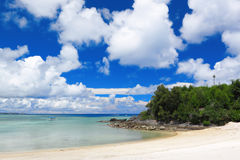 Beach of okinawa Stock Image