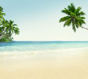 Beach Outdoors Travel Destination Tourist Spot Concept Stock Image