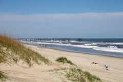 Beach on Outer banks Stock Images