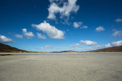 Beach in the Outer Hebrides Stock Image