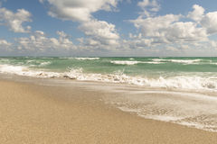 Beach, Pacific Ocean, Florida Royalty Free Stock Image