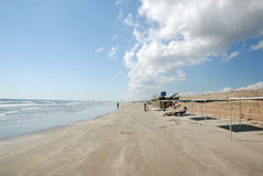Beach of Padre Island, Texas Stock Image