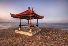 Beach Pagoda in Bali Royalty Free Stock Images