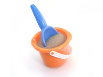 Beach pail and shovel Stock Image