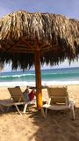 Beach palapa Stock Images