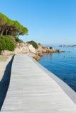 Beach in Palau, Sardinia. Royalty Free Stock Images