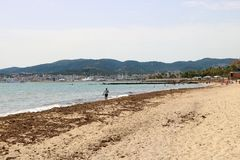 Beach in Palma de Maollorca Stock Images