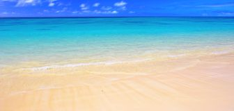 Beach panorama ( stock image