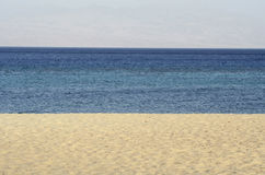 Beach panorama Royalty Free Stock Photos