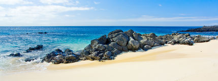 Beach Panorama Royalty Free Stock Photos