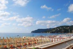 Beach panorama, Italy Stock Photos